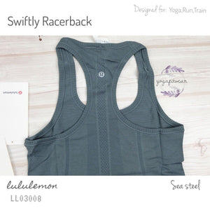 Lululemon - Swiftly Racerback (Sea Steel) (LL03008)