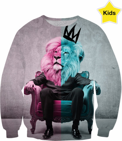 The World's Most Interesting King Unisex Kid's Sweater