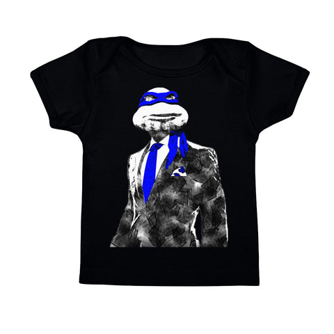 Blue Suit & Tie Infant Tee