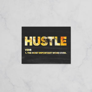 Hustle - Explanation - Hustler Canvas