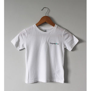 Hopesow Childs T-shirt | White