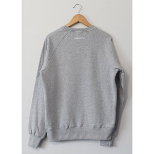 Hopesow Sweatshirt | Grey Marl