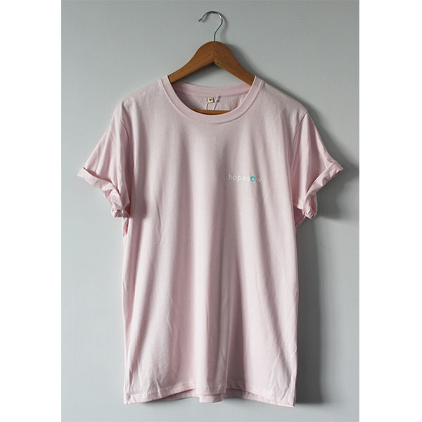 Hopesow T-shirt | Light Pink
