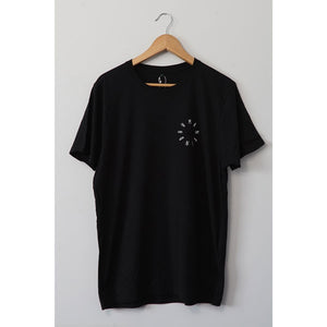 Humankind Small Design T-shirt | Black