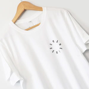 HumanKind Small Design T-shirt | White
