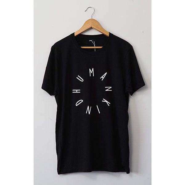 Humankind Large Design T-shirt | Black