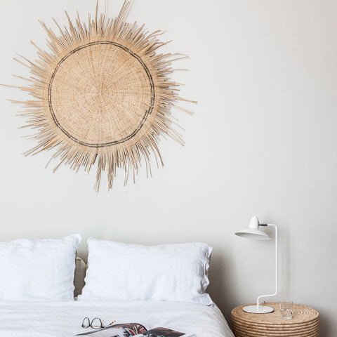 Sun Circle Wall Hanging Natural