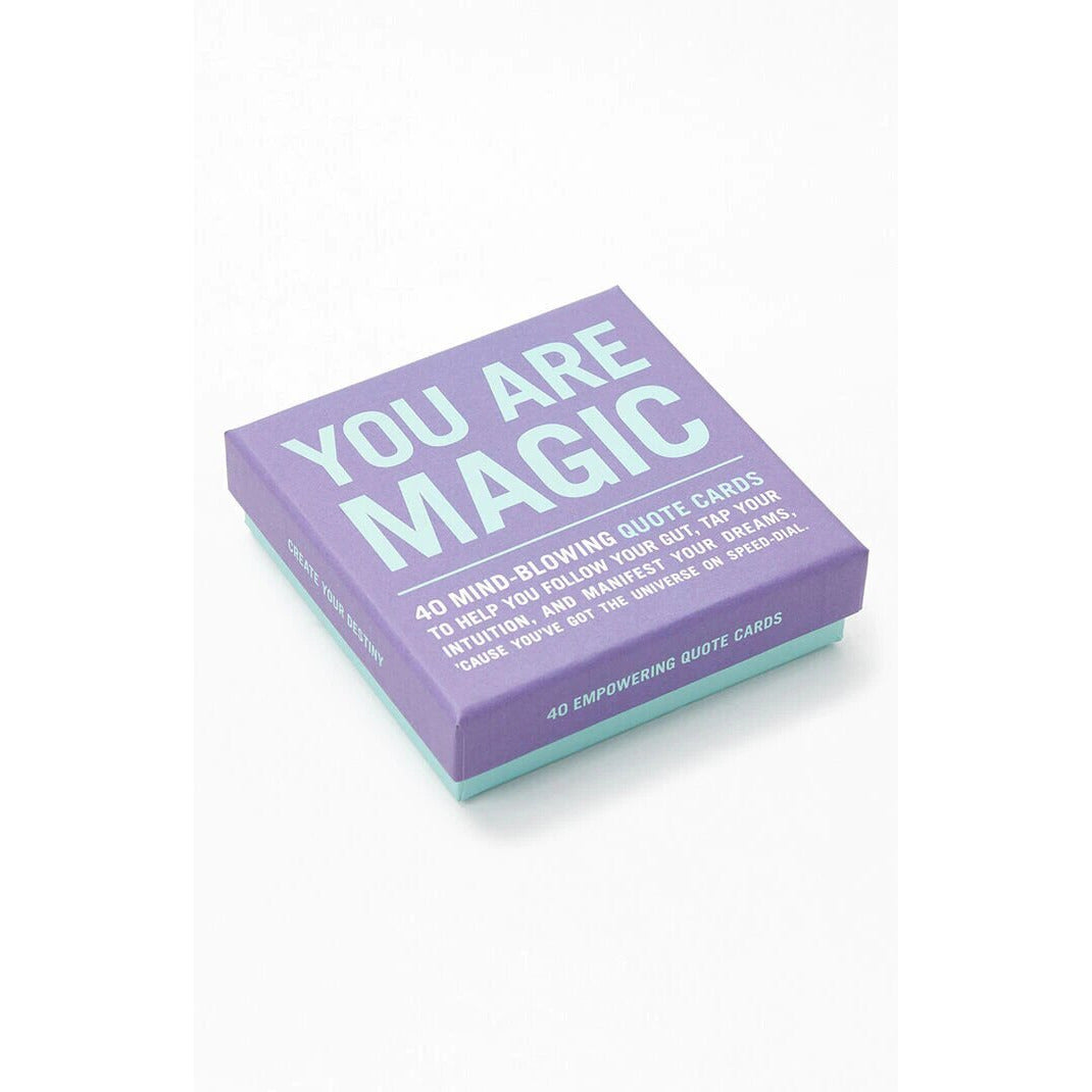 "Karte ""You are magic"""