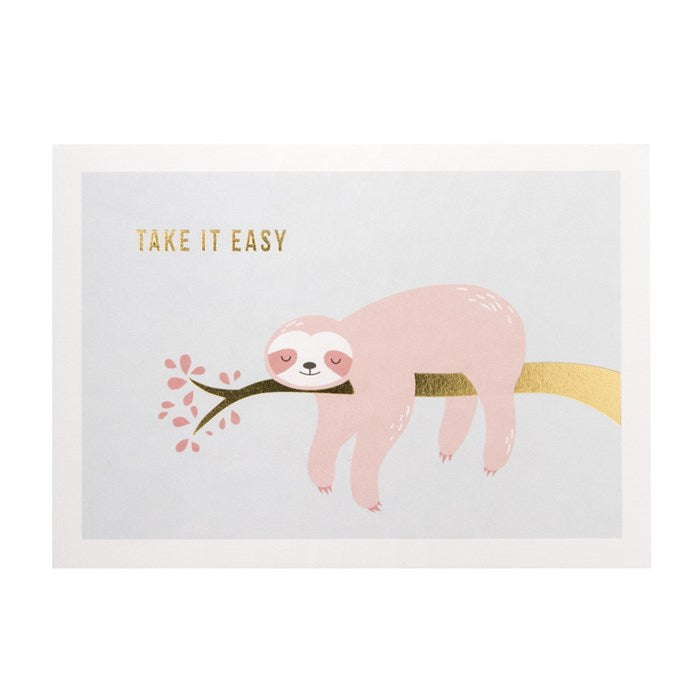 "Kartica ""Take it easy"""