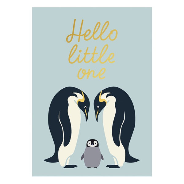 "Kartica ""Hello Little One"""