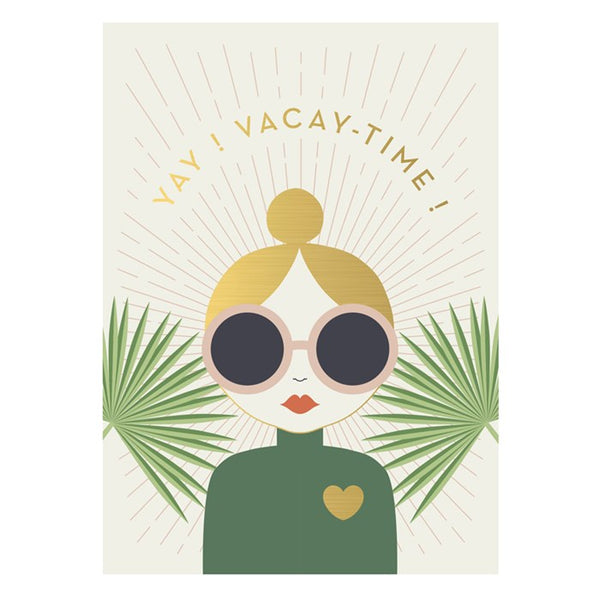 "Kartica ""Vacay Time"""