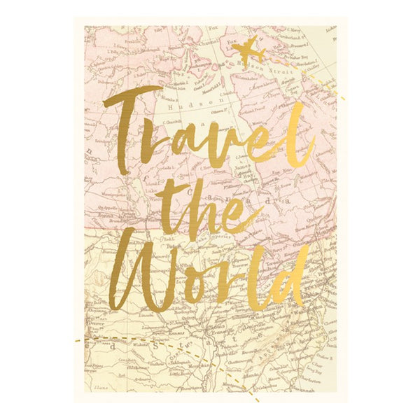 "Kartica ""Travel the world"""