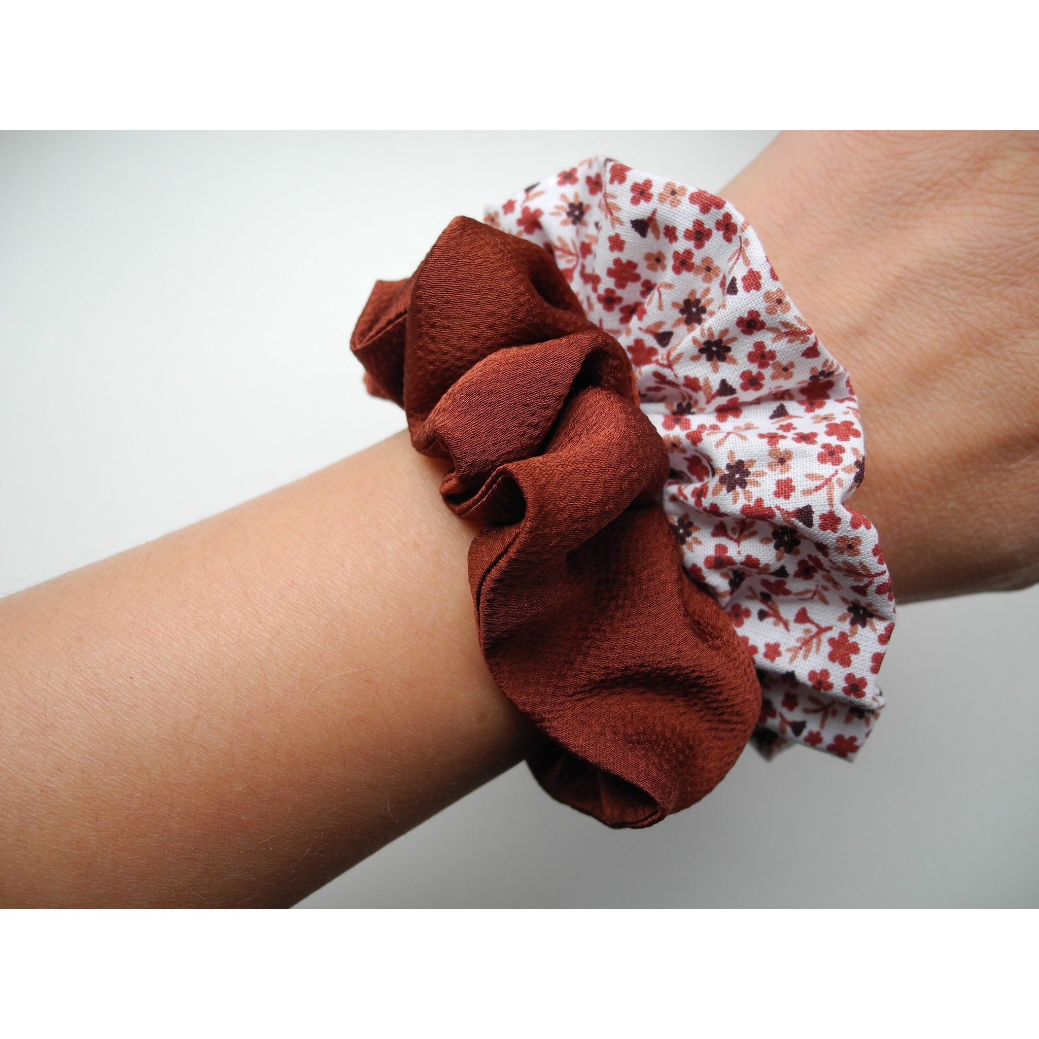 "Scrunchies ""Terra cotta"""