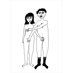 Kartica naked couple