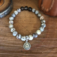 Mai Jasper Sterling Angel Bracelet