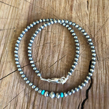 Navajo Pearl Kingman Turquoise Necklace