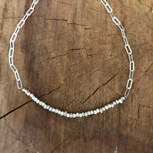 Sterling and Hill Tribe Fine Silver Choker