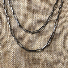 Sterling Silver Paperclip Chain Necklaces