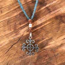 Java Glass Hill Tribe Silver Necklace