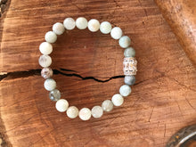 Natural Aquamarine Yoga Bracelet