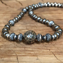 Navajo Pearl Hill Tribe Fine Silver Necklace