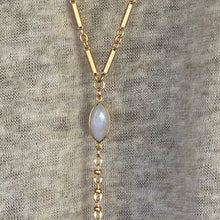 Moonstone Rosary Necklace