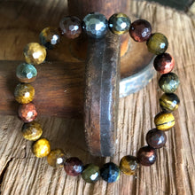 Multicolor Tiger Eye Bracelet