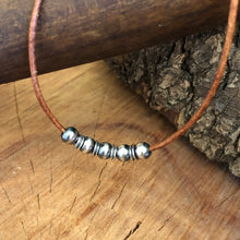 Navajo Pearl and Spacer Necklace