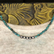 Genuine Turquoise Navajo Pearl Necklace