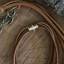 Leather Horn Necklace
