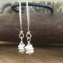 Stacked Keshi Pearl Earrings