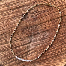 Clear Quartz Dainty Necklace