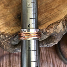 Mixed Metals Meditation Ring