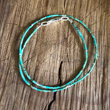 Number 8 Mine Turquoise Necklace