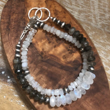 Moonstone Navajo Pearl Convertible Bracelet/Necklace