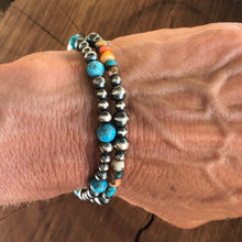 Kingman Turquoise Spiny Oyster Convertible Bracelet/Necklace