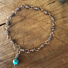 Copper Wire Wrapped Link Bracelet