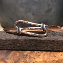 Copper and Sterling Cuff