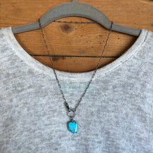 Kingman Turquoise Slab Necklace
