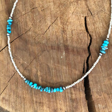 Fine Silver Turquoise Necklace