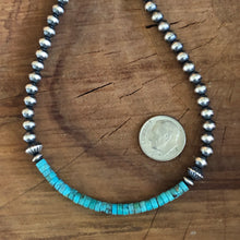 Navajo Pearl Genuine Turquoise Necklace