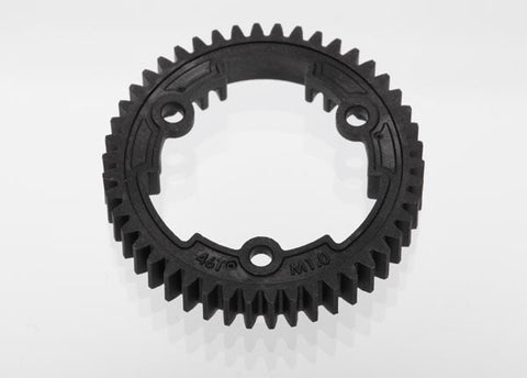 TRA6447 Spur Gear 46T 1.0 Metric Pitch XO-1