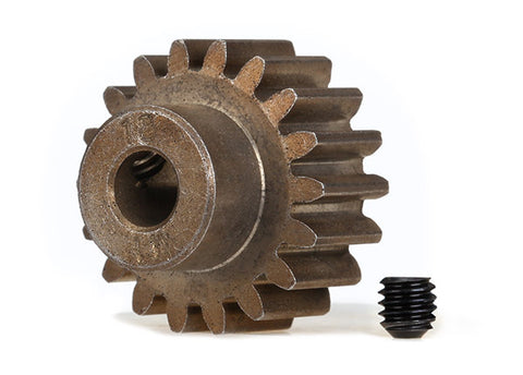 TRA6491X Steel Pinion Gear 18T 1.0Mod, 5mm Bore X-Maxx