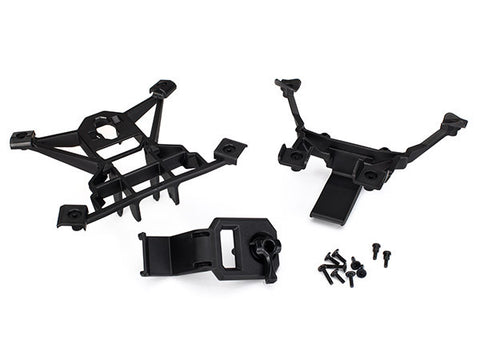 TRA7715     Body mounts, front & rear with Hardware