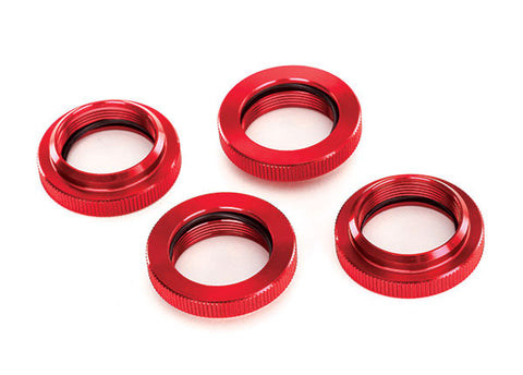 TRA7767R Spring Retainer Red-Anodized Alum GTX Shocks