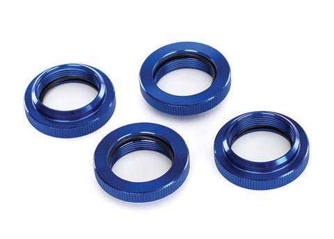 TRA7767 Spring Retainer Blue-Anodized Alum GTX Shocks