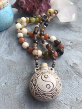 Yin Yang Bottle Necklace