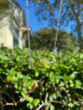 Green Amethyst Necklace