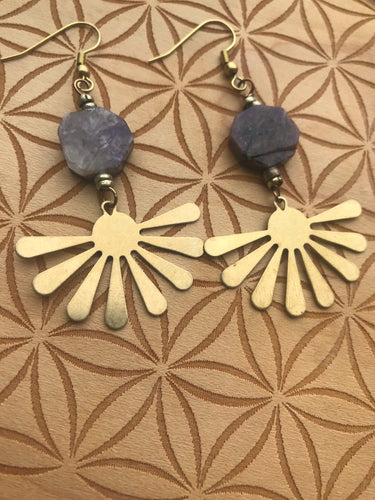 Chariote Sunburst Earrings