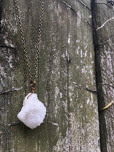 Angel Aura Druzy Necklace